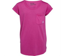 Hurley Mädchen Split Seam Fire Top Rosa