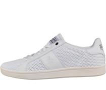 Herren Steadman Mesh Sneakers Weiß