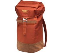Puma Mens Suede Backpack Arabian Spice