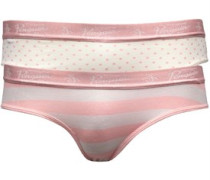 Original Penguin Womens 2 Pack Penguin Brief Pink/Cream