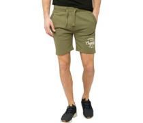Lunton Jersey Shorts Olivengrün