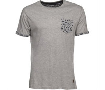 Herren Harrier T-Shirt Graumeliert