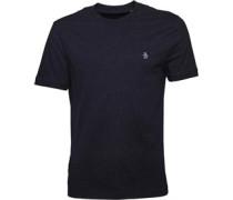Original Penguin Mens Neon Donegal T-Shirt Dark Sapphire