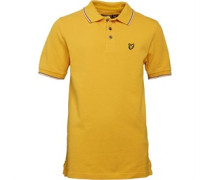 Lyle And Scott Boys Classic Tipped Polo Marigold