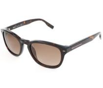 Sonnenbrille Dunkelbraun