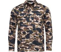 Carhartt Mens Longsleeve Master T-Shirt Camo Isle