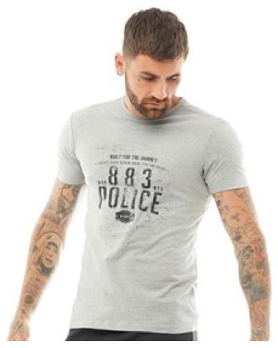 Brockten T-Shirt Graumeliert