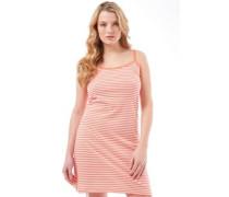 Damen Kleid Korallenrot