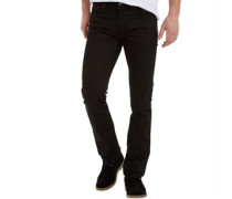 Herren Jim Jeans in Slim Passform Dry Black