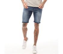 Batley Denim Shorts Verwaschenes