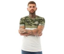 Youneek CRS55 Camo Upper T-Shirt Grün Tarnfarbe