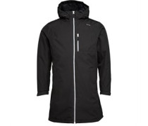 Damen Belfast Long Performance Jacket Schwarz