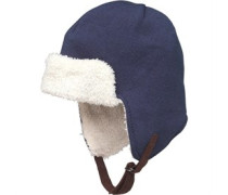 Trapper Mütze Navy