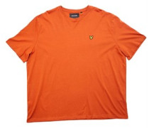 Big Plus Size T-Shirt Dunkelorange