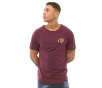 Royals Piping Trim T-Shirt Burgunder