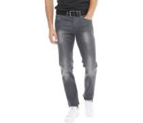 Herren Bancroft Jeans mit geradem Bein Verblasstes Grau