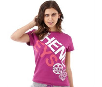 Henleys Womens Hilliard T-Shirt Wild Aster