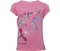 Board Angels Dragonfly T-Shirt Pink