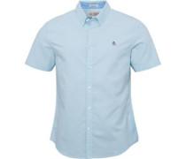 Herren Oxford Hemd mit langem Arm Hellblau