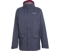 Damen Skiddaw AQ2 Waterproof Shell Performance Jacke Grau