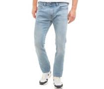 Herren Thavar 0852F Skinny Jeans Mittelblau