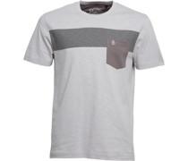 Original Penguin Herren Block Highrise T-Shirt Grau