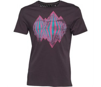 Herren King Of Diamonds Graphic T-Shirt Schwarz