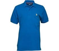 Herren King Polohemd Blau