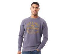 Washed Sweatshirt Verwaschenes Navy