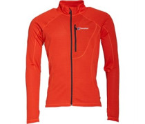 Herren Braddan Fleece Orange