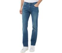 Herren 511 Jeans in Slim Passform Mittelblau