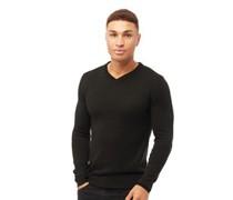 Quazar wear Pullover mit V-Ausschnitt Anthrazit