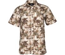 Dickies Herren Honolulu Hemd mit kurzem Arm Grün