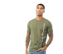 Structure T-Shirt Oliven