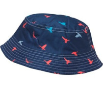 Herren Bucket Beanie Mütze Navy