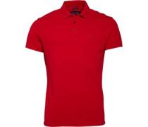 Armani Jeans Herren 4H Polohemd Rot