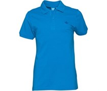adidas Originals Herren Trefoil Pique Polohemd Blau