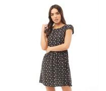 Ladies Ditsy Print Kleid