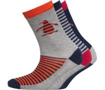 Original Penguin Jungen Pair Spicy Socken Gestreift
