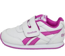 Infant Girls Royal Classic Jogger 2 KC Trainers White/Vicious Violet