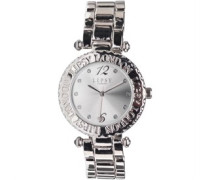Lipsy Damen Armbanduhr Silber