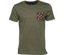Herren Mexico T-Shirt Khaki