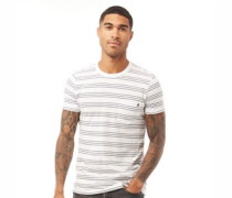 3 Stripe T-Shirt Weiß