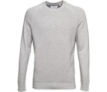 Lyle And Scott Vintage Mens Ottoman Jumper Light Grey Marl