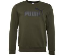 Essentials+ Big Logo Sweatshirt Khaki
