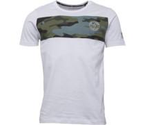 Herren Camron T-Shirt Weiß