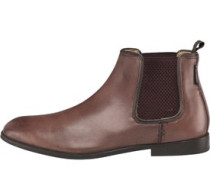 Ben Sherman Mens Chelsea Boots Brown
