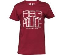 883 Police Herren Horton T-Shirt Rot