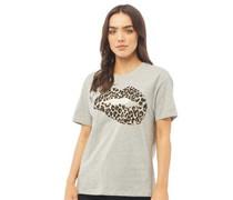 Amor Oversized T-Shirt meliert