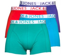 JACK AND JONES Herren  Boxershorts in lose Passform Mehrfarbig